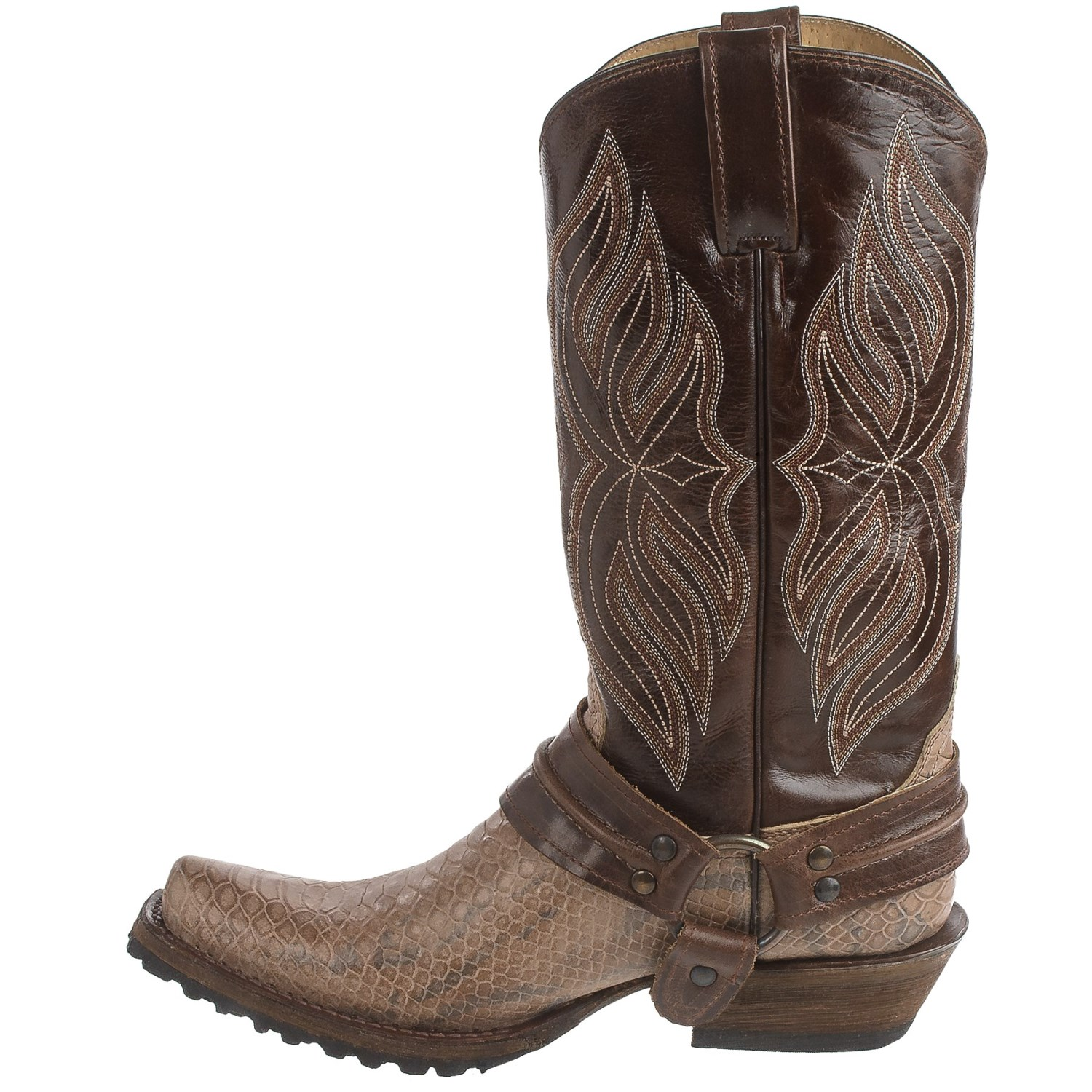Roper Bandit Toe Harness Cowboy Boots (For Men) - Save 39%