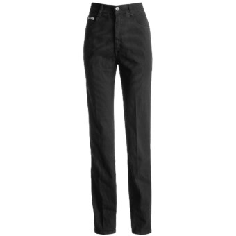 Roper Basic Stretch Jeans - Three-Pocket Front (For Women) in Black Corduroy