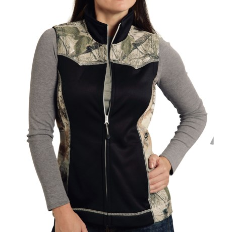 Roper Bonded Fleece Vest (For Women)