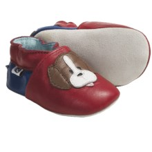 Roper Cowbabies Low-Top Shoes - Leather (For Infants) in Red/Blue - Closeouts