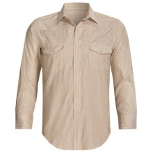 Roper Double-Yoke Snap Shirt - Long Sleeve (For Men) in Brown - Closeouts