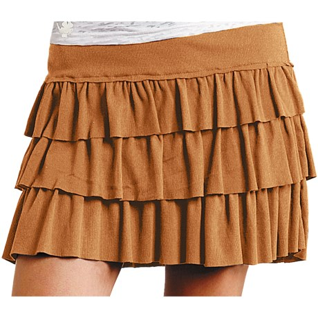 Roper Five Star Mini Skirt (For Women) in Orange