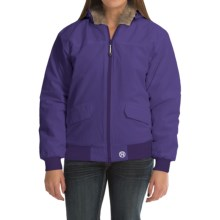 Roper Fleece-Lined Jacket - Insulated (For Women) in Purple - Closeouts