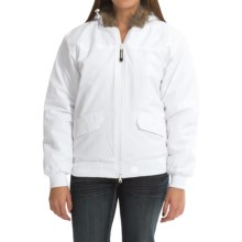 Roper Fleece-Lined Jacket - Insulated (For Women) in White - Closeouts