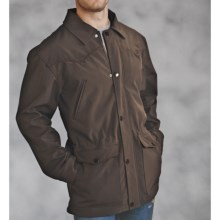 Roper Hi-Tech Barn Coat - Soft Shell, Fleece (For Men) in Brown - Closeouts