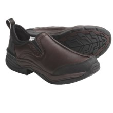 Roper Horseshoe Shoes - Leather (For Men) in Brown - Closeouts