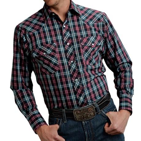 Roper Karman Classic Plaid Shirt - Snap Front, Long Sleeve (For Men and Big Men)