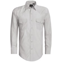 Roper Karman Shirt - Dobby, Long Sleeve (For Men) in Grey - Closeouts