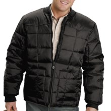 Roper Range Gear Jacket - Quilted Nylon, Insulated (For Men) in Black - Closeouts