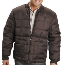 Roper Range Gear Jacket - Quilted Nylon, Insulated (For Men) in Brown - Closeouts