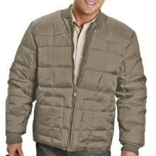 Roper Range Gear Jacket - Quilted Nylon, Insulated (For Men) in Taupe - Closeouts