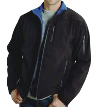 Roper Range Gear Soft Shell Jacket - Fleece Lining (For Men) in Black - Closeouts