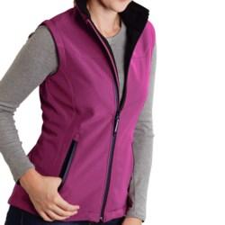 Roper Range Gear Tech Soft Shell Vest (For Women) in Berry