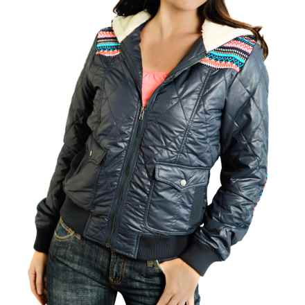 Roper Shell Jacket - Insulated (For Women) in Blue - Closeouts
