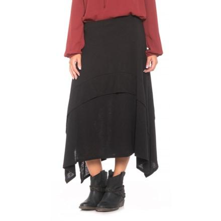 c7a3ca6225b8 Roper Slub Jersey A-Line Skirt (For Women) in Black - Closeouts