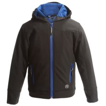 Roper Soft Shell Jacket - Insulated (For Little and Big Boys) in Black - Closeouts