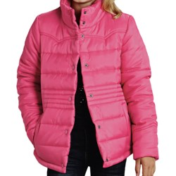 Roper Solid Jacket - Quilted Nylon (For Girls) in Black
