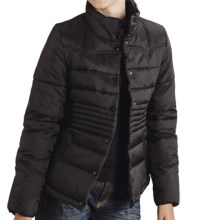 Roper Solid Quilted Nylon Jacket (For Women) in Black - Closeouts