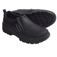 Roper Sport-Performance Shoes - Leather, Slip-Ons (For Men) in Black Nubuck - Closeouts