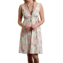 Roper Studio West Vintage Floral Dress - Sleeveless (For Women) in Green - Closeouts