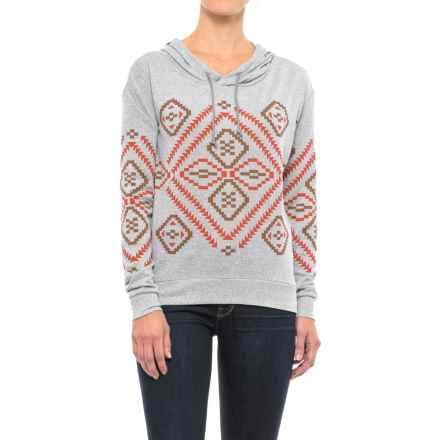 Roper Sweater Jersey Hoodie (For Women) in Grey - Closeouts