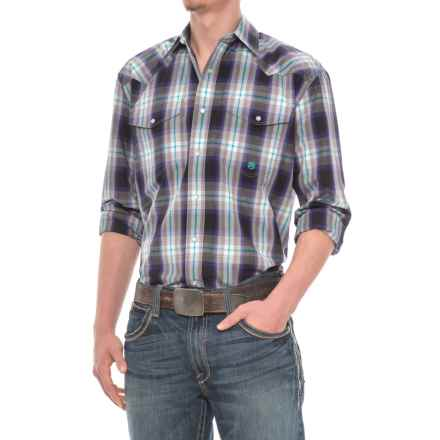 Roper Western Snap Shirt - Long Sleeve (for Men) in Hawthorne - Closeouts