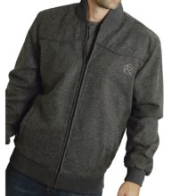 Roper Yoked Jacket - Full Zip (For Men) in Charcoal - Closeouts