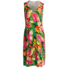 Rosch Stretch Jersey Nightshirt - Sleeveless (For Women) in Exotic Flower Print - Closeouts