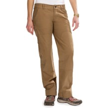 Roscoe Outdoor Bolder Pants - Double Front (For Women) in Brown - Closeouts