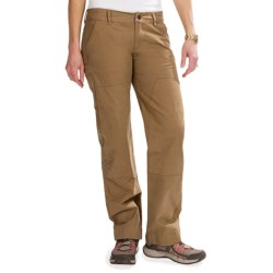 Roscoe Outdoor Bolder Pants - Double Front (For Women) in Brown