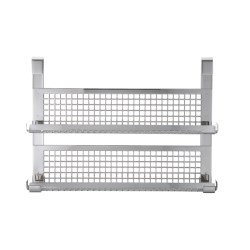 Rosle Double Shelf Spice Rack - Stainless Steel in See Photo