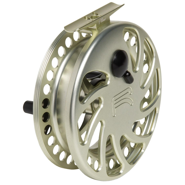 Ross reels flow 4 5 centerpin fishing reel 8wt 4422v for Center pin fishing