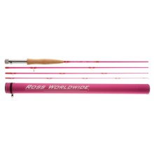 Ross Reels Journey Fly Fishing Rod - 4-Piece (For Youth) in Pink - Closeouts