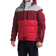 Rossignol 1907 Virage Down Ski Jacket - 640 Fill Power (For Men) in Deep Red - Closeouts