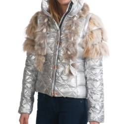 Rossignol Alberta Down Jacket - 650 Fill Power (For Women) in Iridium
