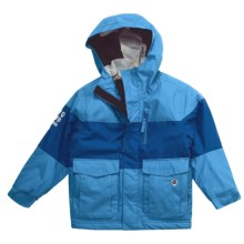 Rossignol Angry Ski Jacket - Insulated (For Boys) in Electric Blue - Closeouts
