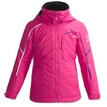 Rossignol Astral Ski Jacket (For Girls) in Berry Pink - Closeouts