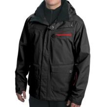 Rossignol Atlas Shell Ski Jacket (For Men) in Black - Closeouts