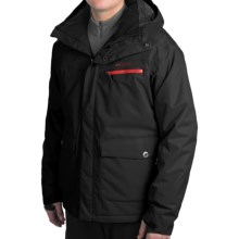 Rossignol Atlas Ski Jacket - Insulated (For Men) in Black - Closeouts
