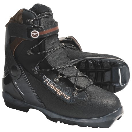 Rossignol BC X-7 Backcountry Cross-Country Ski Boots - BC NNN (For Men and Women) in Black