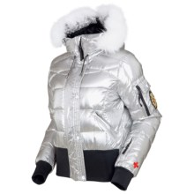 Rossignol Becky Down Iridium Jacket - 640 Fill Power (For Women) in Iridium - Closeouts