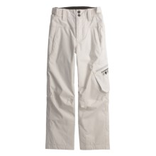 Rossignol Cargo Pants - Insulated (For Boys) in Fog - Closeouts