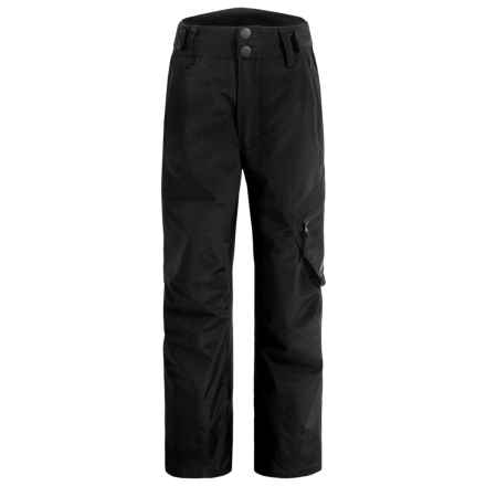Rossignol Cargo Ski Pants - Waterproof, Insulated (For Big Boys) in Black - Closeouts