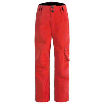 Rossignol Cargo Ski Pants - Waterproof, Insulated (For Big Boys) in Crimson - Closeouts