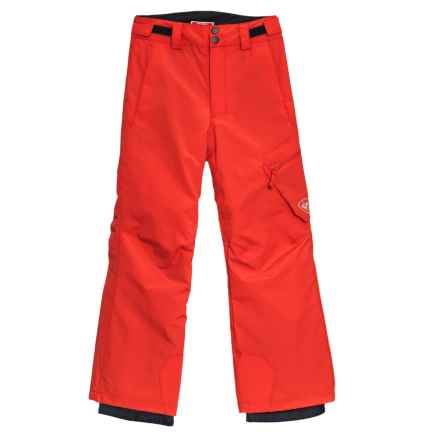 Rossignol Cargo Ski Pants - Waterproof, Insulated (For Boys) in Crimson - Closeouts