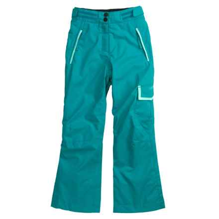 Rossignol Cargo Snow Pants - Insulated (For Girls) in Opal - Closeouts