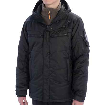 Rossignol Chinook Ski Jacket - Insulated (For Men) in Black - Closeouts