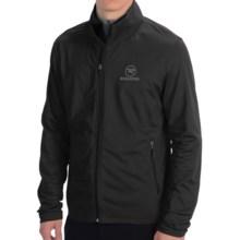 Rossignol Clim Fleece Jacket - Full Zip (For Men) in 200 Black - Closeouts