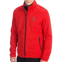 Rossignol Clim Fleece Jacket - Full Zip (For Men) in Red - Closeouts