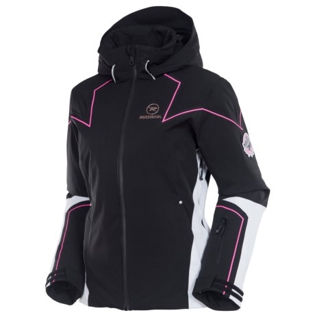 Rossignol Diamond Jacket - Waterproof, Insulated (For Women) in Black
